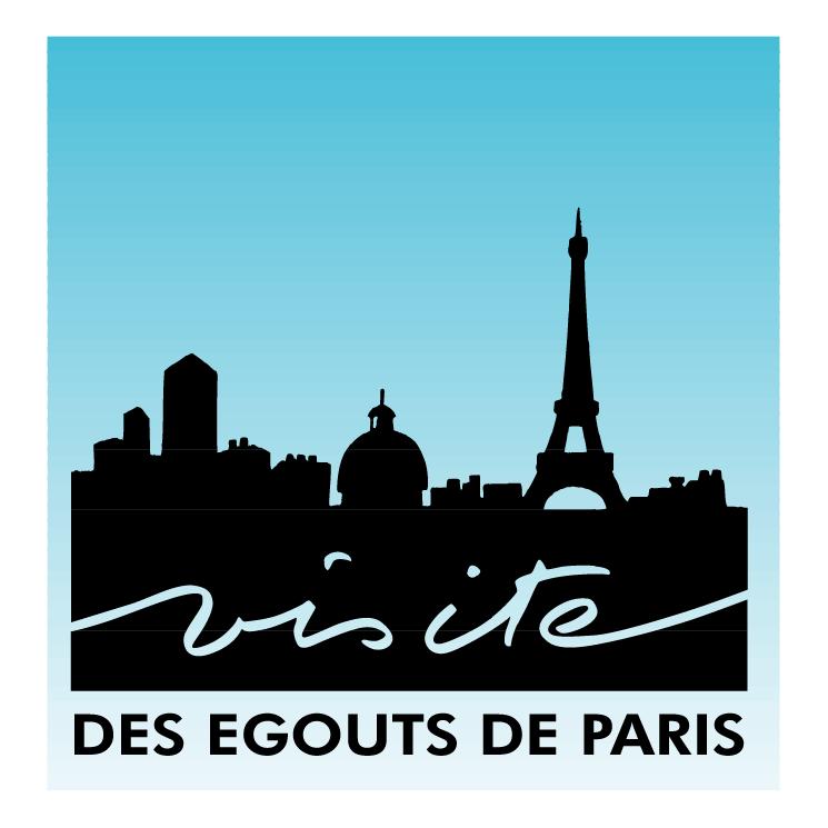free vector Des egouts de paris
