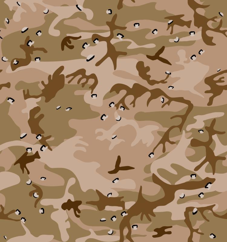free vector Desert Camo Gulf War Style