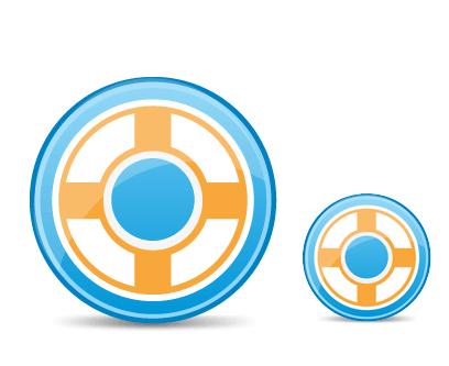 free vector Design Float Icon