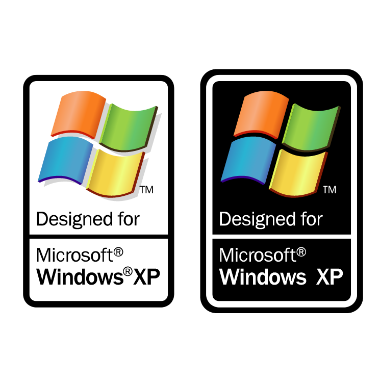 free vector Designed for microsoft windows xp