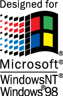 free vector Designed for Windows logo