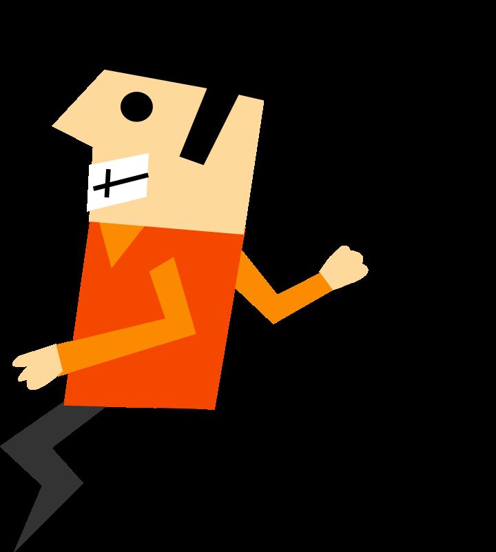 free vector Designer run