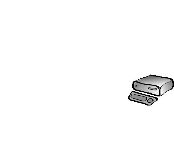 free vector Desktop Computer And Keyboard clip art