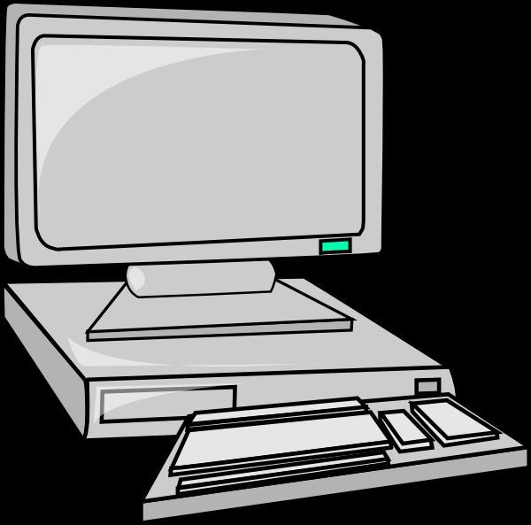 desktop computer clip art free vector 4vector rh 4vector com computer virus images cliparts computer images clip art free