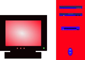 free vector Desktop Pc clip art