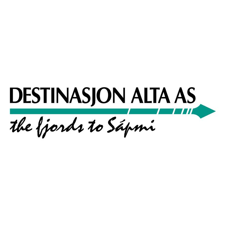 free vector Destinasjon alta