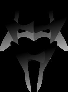 free vector Devilish Mask clip art