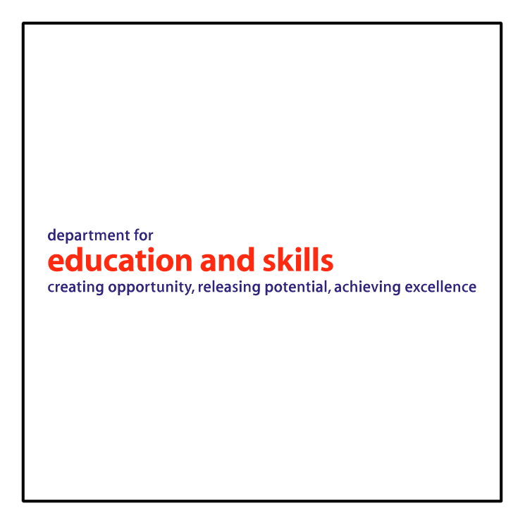 free vector Dfes department for education and skills