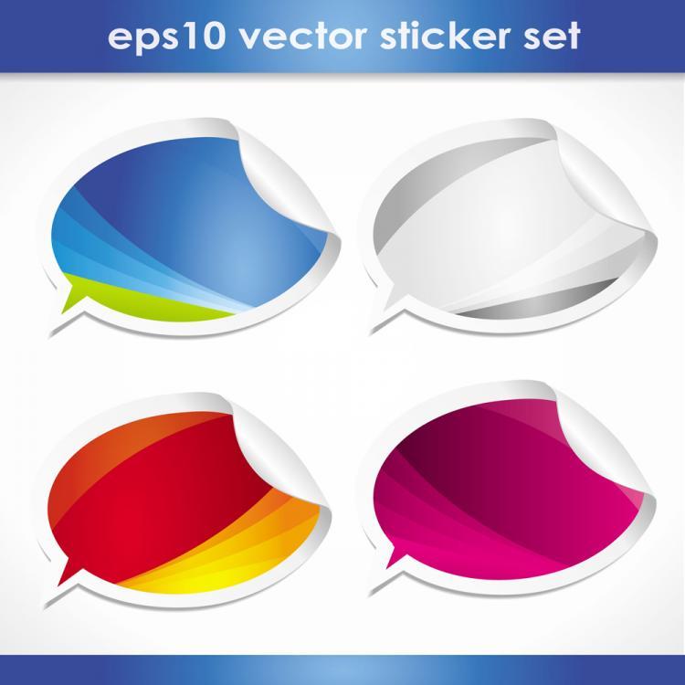 free vector Dialogue balloon dialog 03 vector