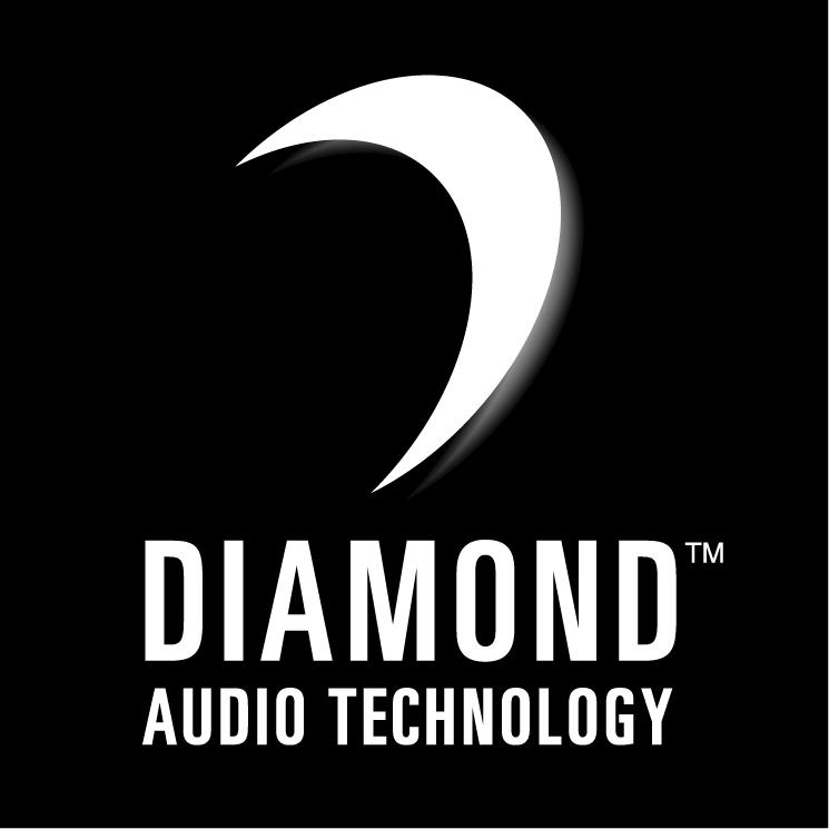 free vector Diamond audio technology 0