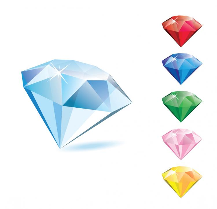 free vector Diamond vector