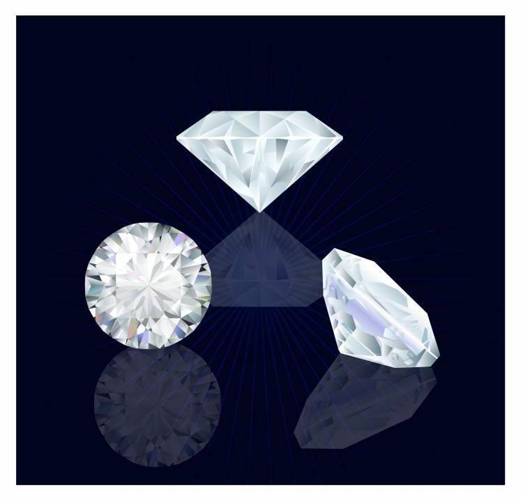 free vector Diamonds