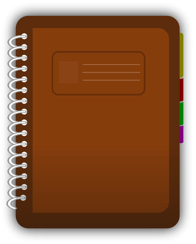 Book Cover Design Template Vector Illustration Png : Diary free vector