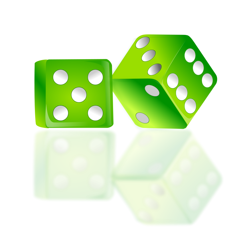 free vector Dice Icon by netalloy