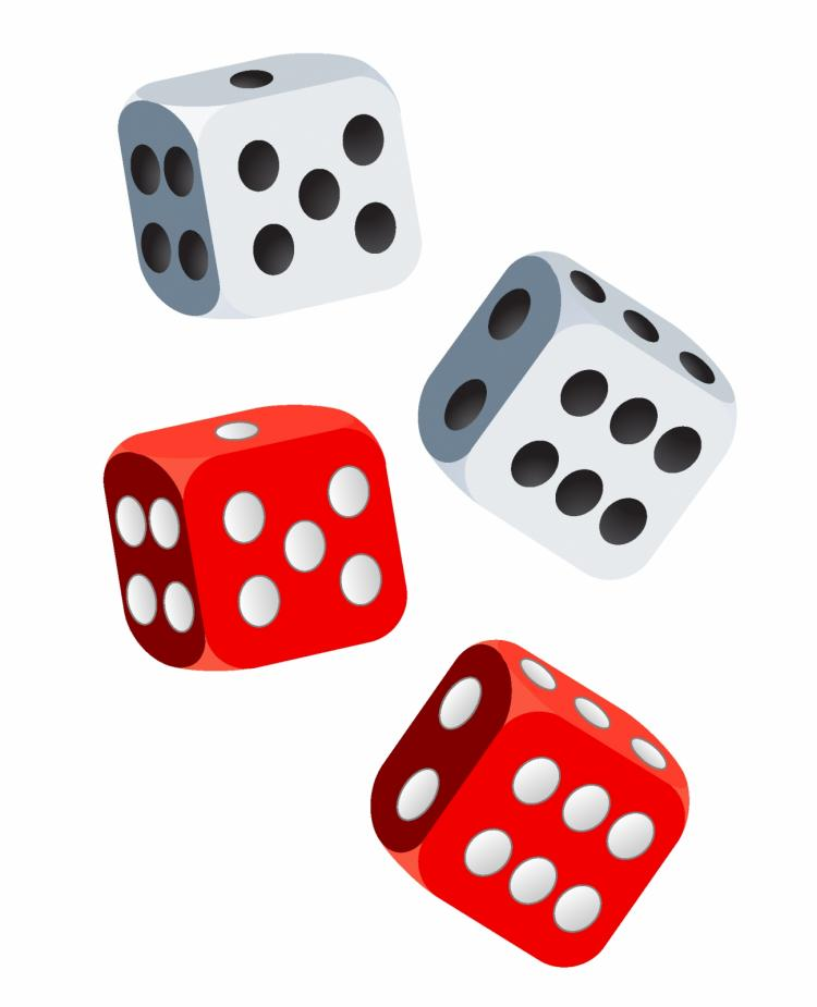 free vector Dices.