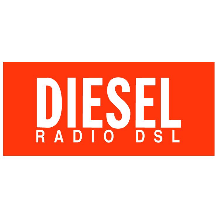 free vector Diesel radio dsl