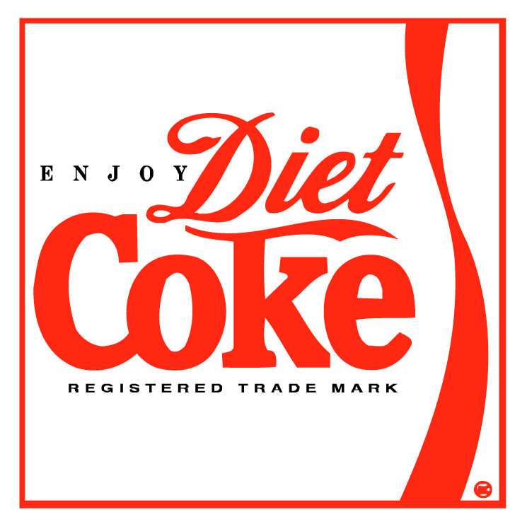 free vector Diet coke 2