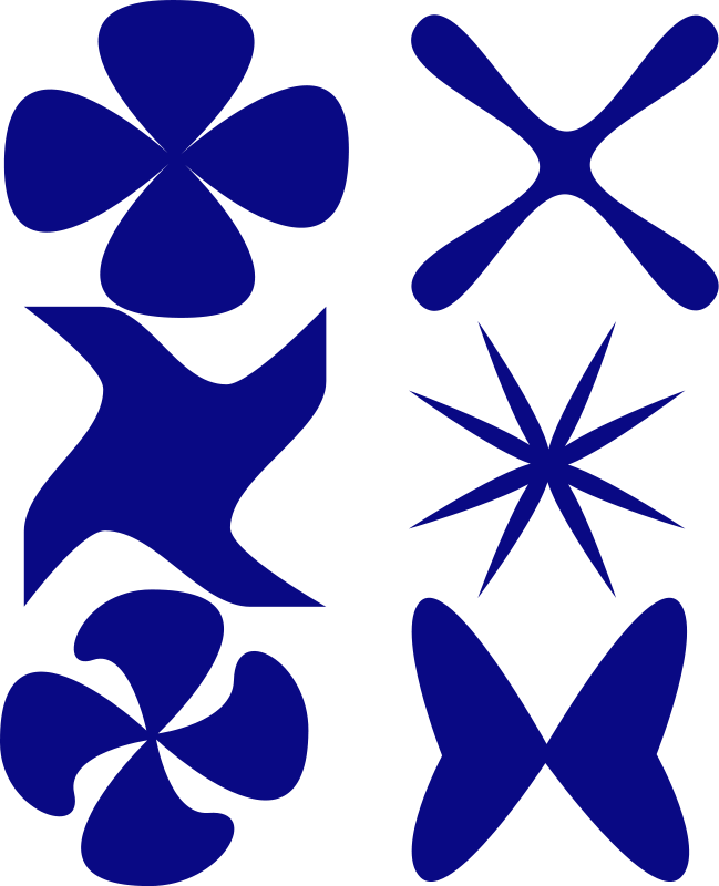 free vector Diferent shapes