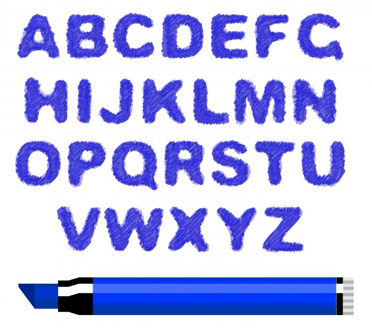 free vector Different letters 05 vector