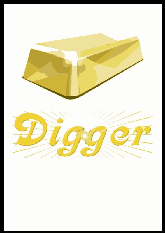 free vector Digger