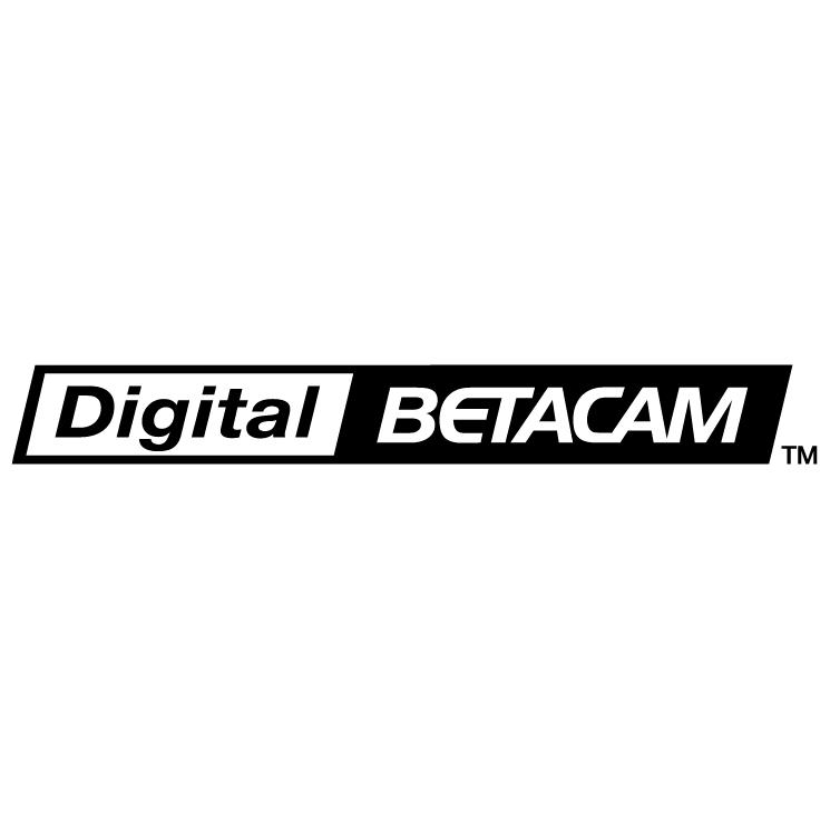 free vector Digital betacam 0