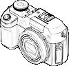 free vector Digital Camera clip art