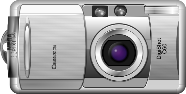 Camera Vintage Vector Png : Digital camera clip art 120993 free svg download 4 vector