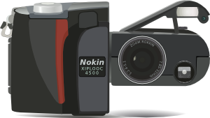 free vector Digital Camera Nikon Coolpix clip art