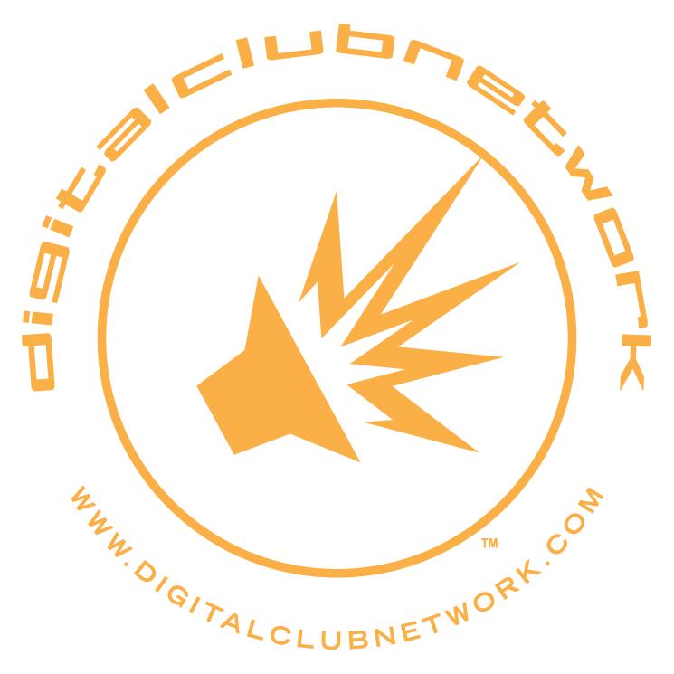 free vector Digital club network 0