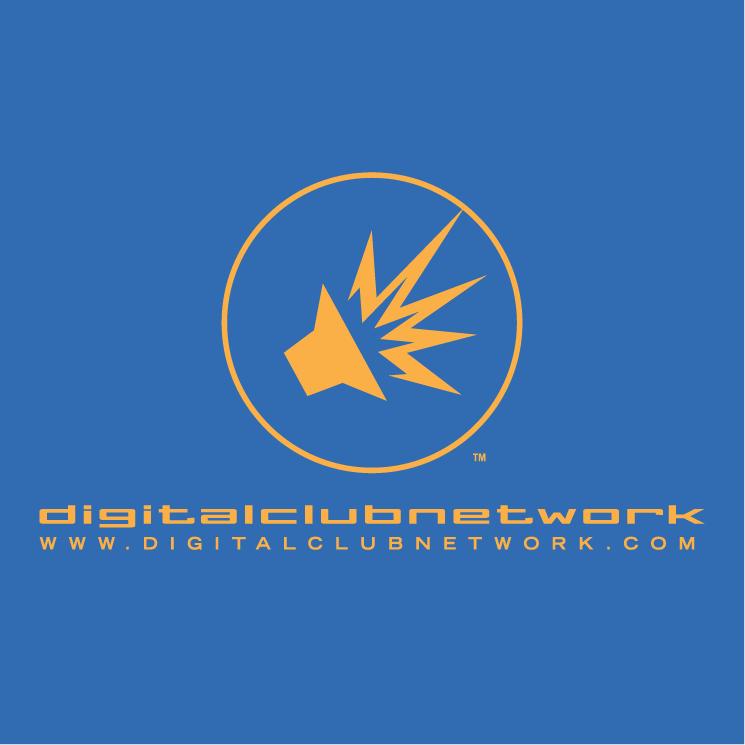 free vector Digital club network 1