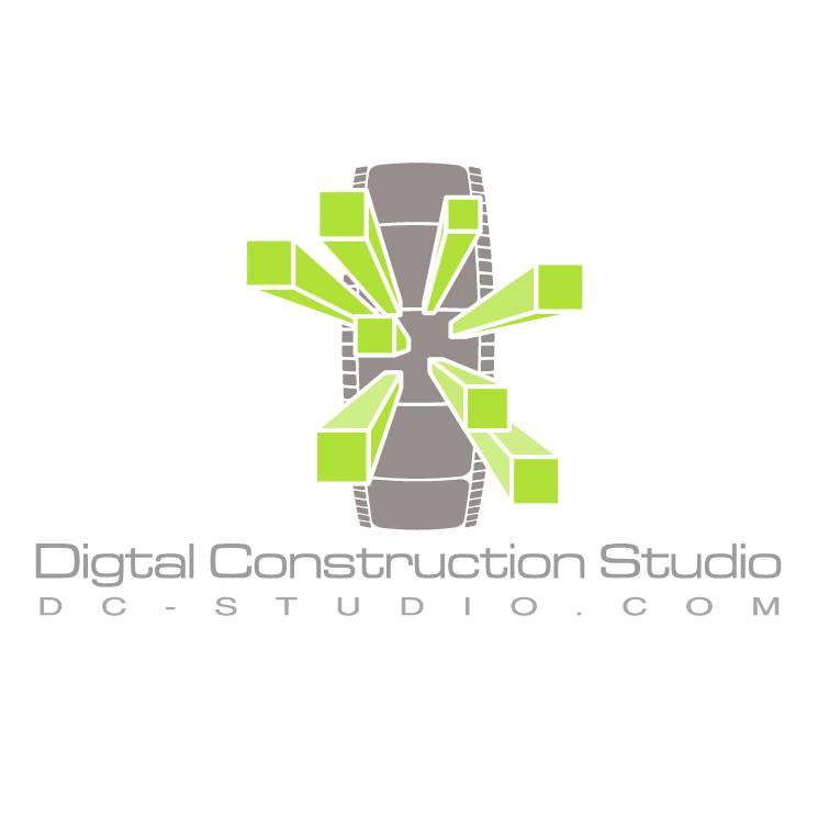 free vector Digital construction studio