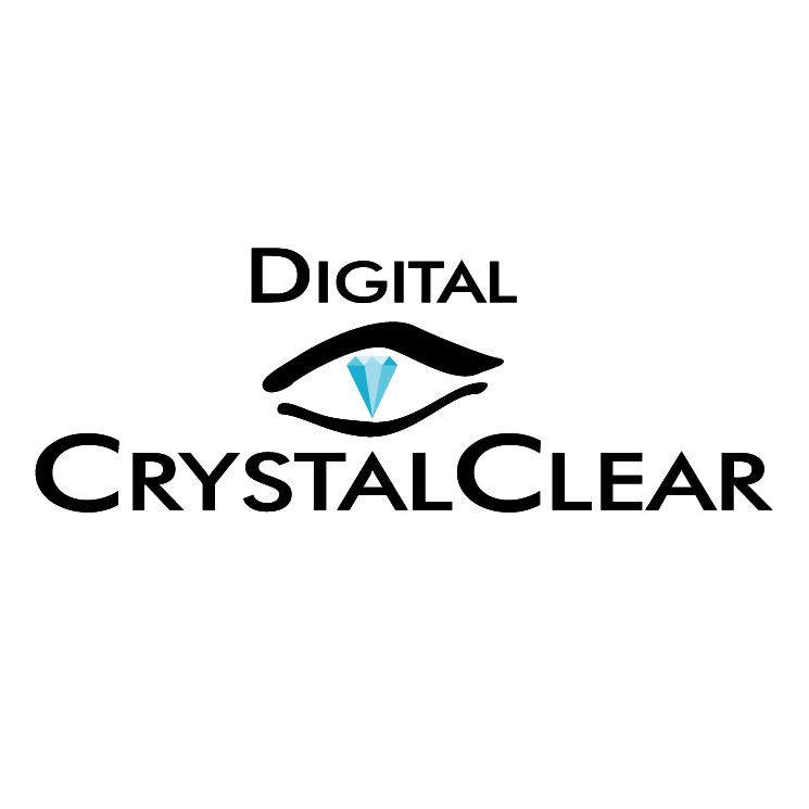 free vector Digital crystalclear