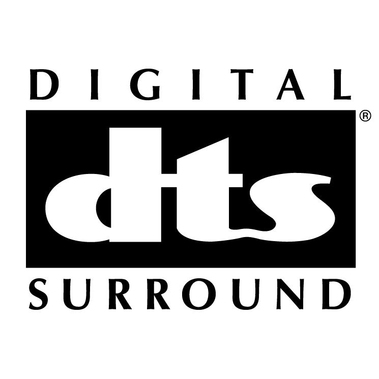 Digital Dts Surround 0 Free Vector 4vector
