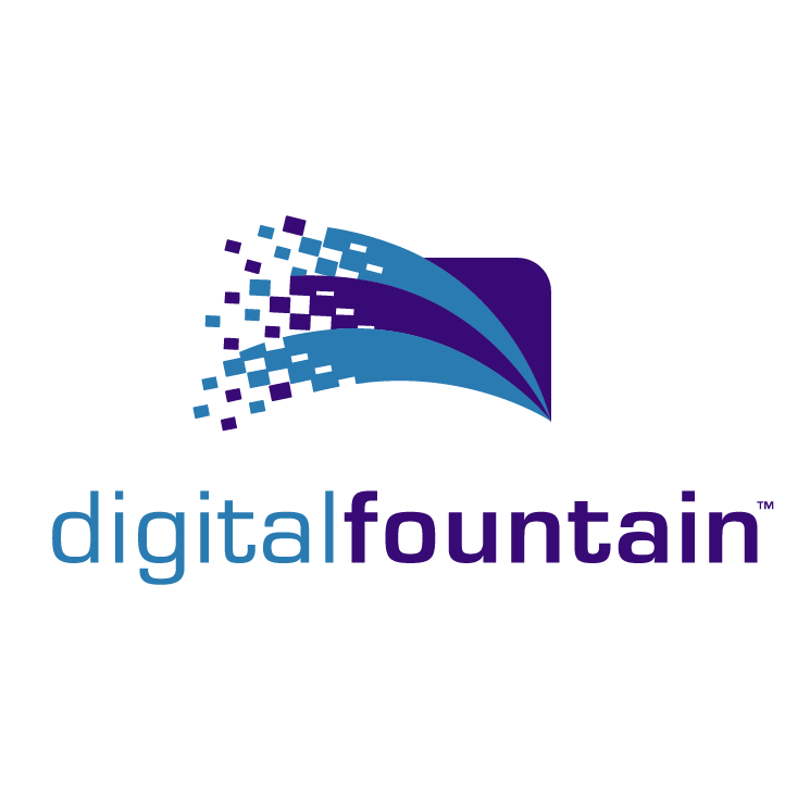 free vector Digital fountain