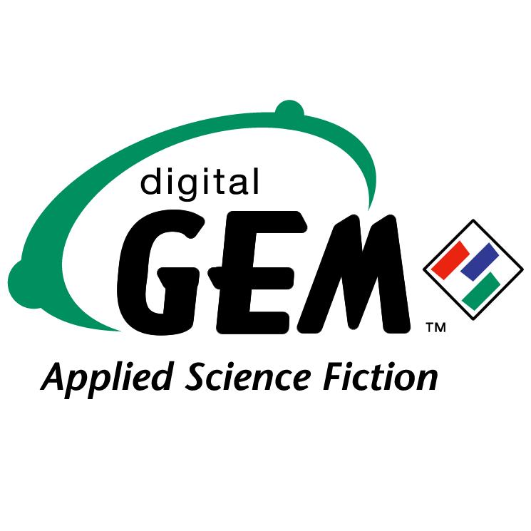 free vector Digital gem