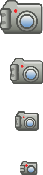 free vector Digital Photo Camera Icon clip art