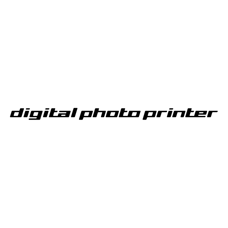 free vector Digital photo printer