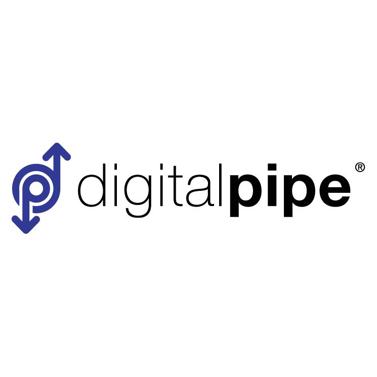 free vector Digital pipe