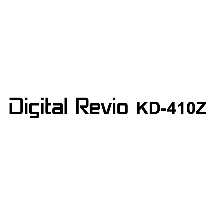 free vector Digital revio kd 410z