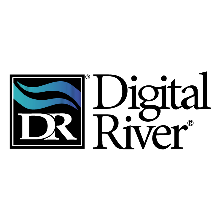 free vector Digital river