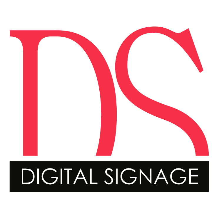 free vector Digital signage