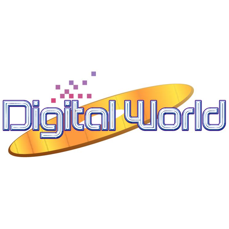 free vector Digital world