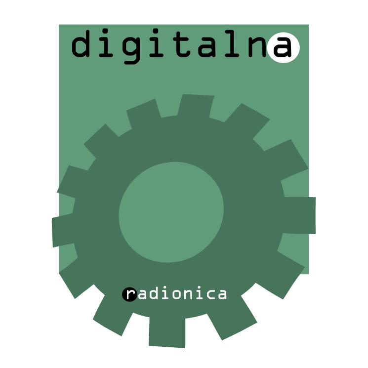 free vector Digitalna radionica