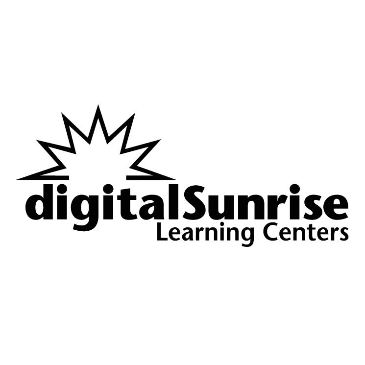 free vector Digitalsunrise