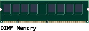 free vector Dimm Memory clip art