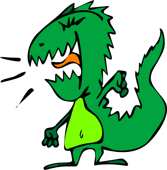 free vector Dinosaur clip art 119327