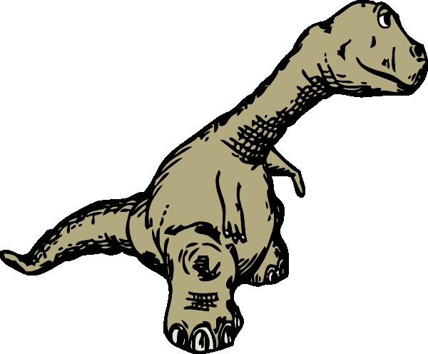 free vector Dinosaur Sideview clip art