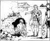 free vector Diogenes And Alexander clip art