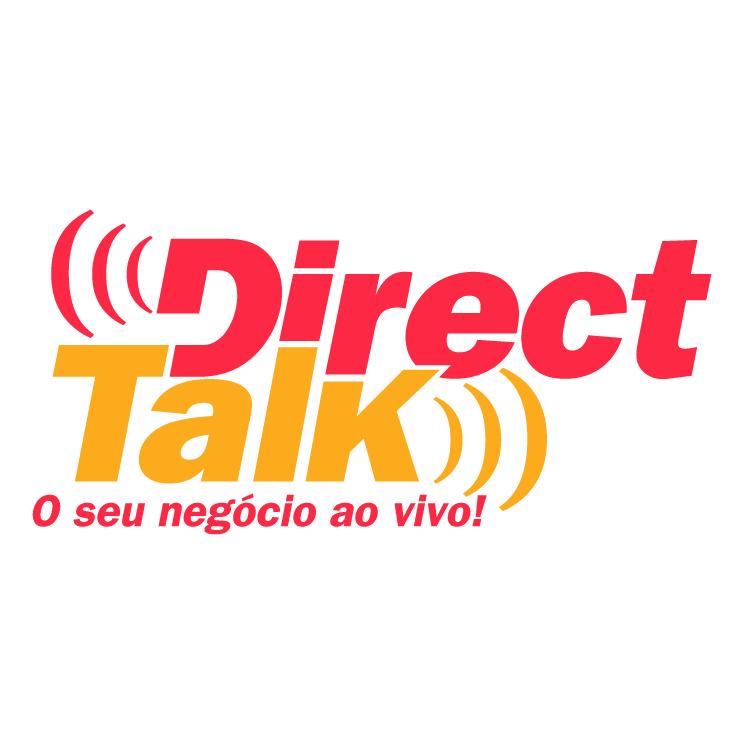 free vector Direct talk