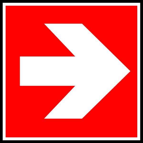 free vector Direction    Suivre 3 clip art